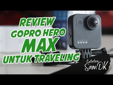 Review GOPRO MAX terbaru Indonesia untuk traveling