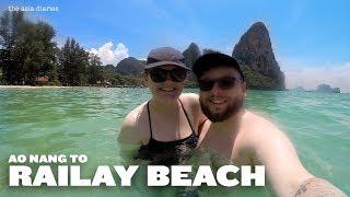THE BEST BEACH IN THAILAND? RAILAY BEACH, 2019 VLOG! [ the asia diaries ]