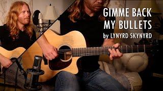 """Gimme Back My Bullets"" by Lynyrd Skynyrd - Adam Pearce (Acoustic Cover)"