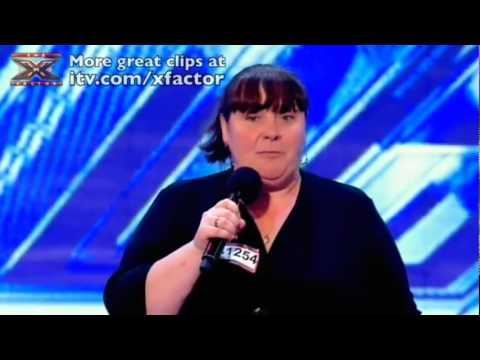 """Mary Byrne's """"I Who Have Nothing"""" By Tom Jones- X Factor 2010-HD"""