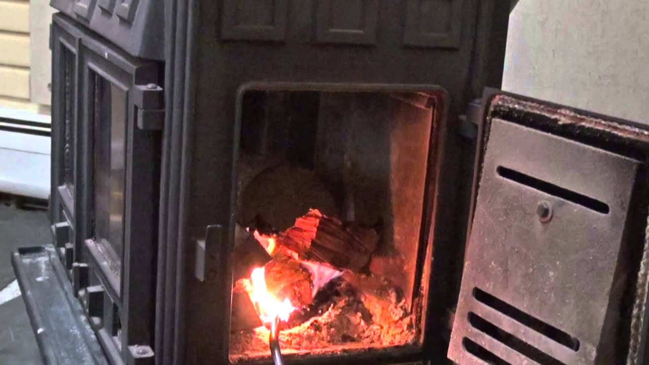 secret to quickly light a wood stove youtube