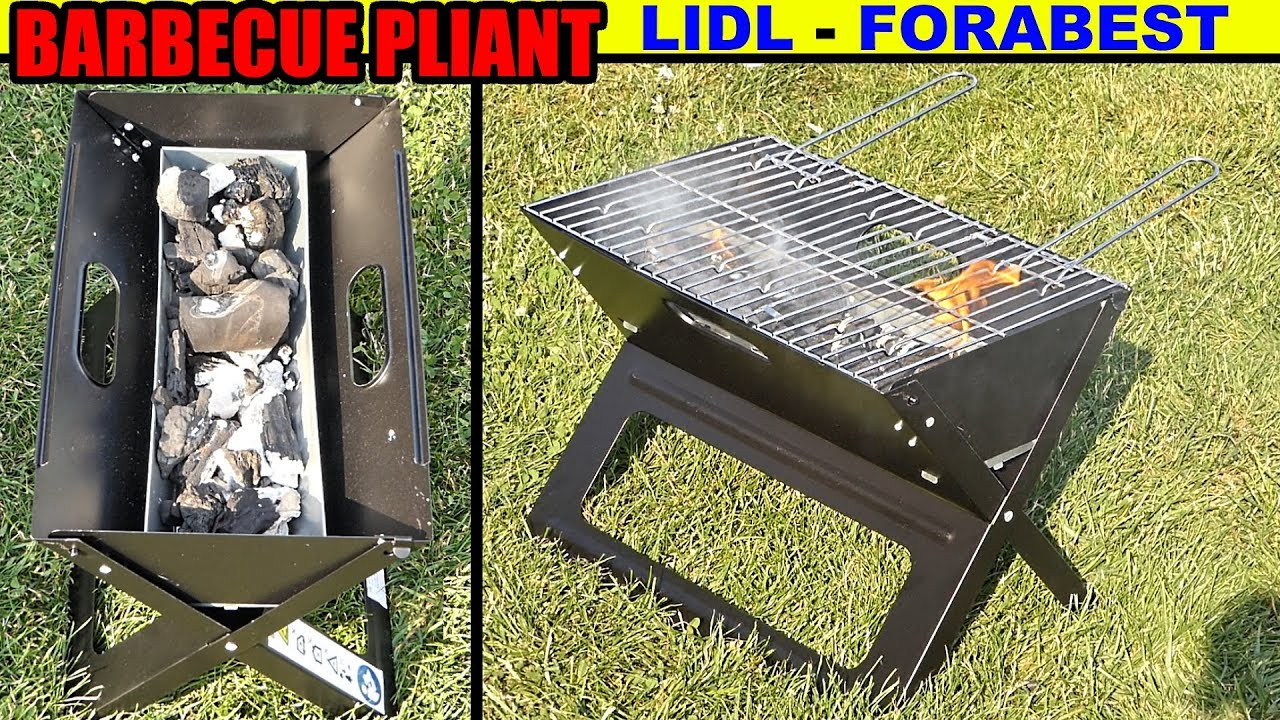barbecue pliant lidl florabest folding barbecue klappgrill barbacoa