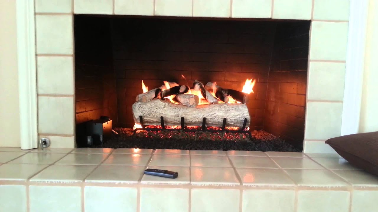remote control fireplace with skytech sky youtube a thermostat watch