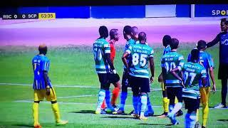 Palavras de Jorge Sousa para Stojkovic (Real Massama Vs Sporting B 20/08/2017)