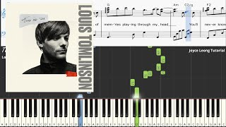Louis Tomlinson - Two of Us - Piano Tutorial & Sheets