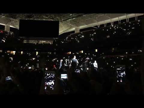 U2 Bad w/ America lyrics LIVE Hard Rock Stadium Miami, FL 6/11/17