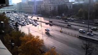 Авария на ленингадском проспекте