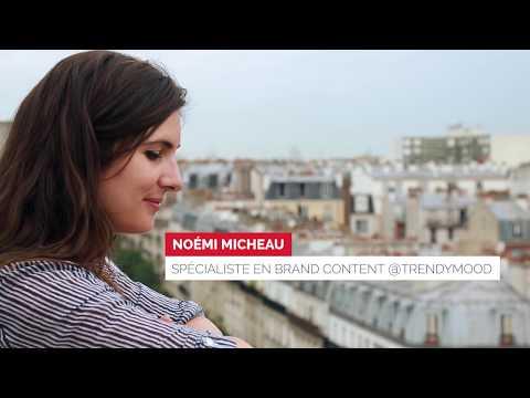 Noémi Micheau trace son parcours dans le brand content