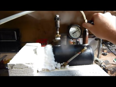 how to make a steam engine piston at home