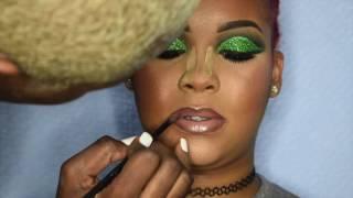 Green Glitter CutCrease💚   Client Edition Ft. Yonnie Melone