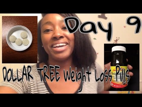 dollar-tree--nature's-measure-weight-loss-pills-day-9---update-|-weight-loss-vlog-|-lifeasbrittany