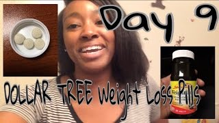 DOLLAR TREE- Nature's Measure Weight Loss Pills Day 9  - Update | Weight Loss VLOG