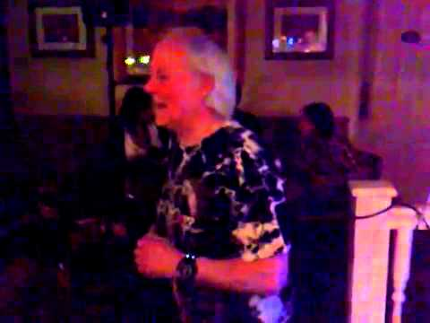 My Dad Tom on karaoke in Stainforth Doncaster