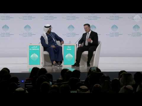 A Conversation with Elon Musk Moderated by Mohammad AlGergawi