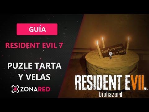 RESIDENT EVIL 7 puzle tarta y vela - Solución - Guía - Walkthrough