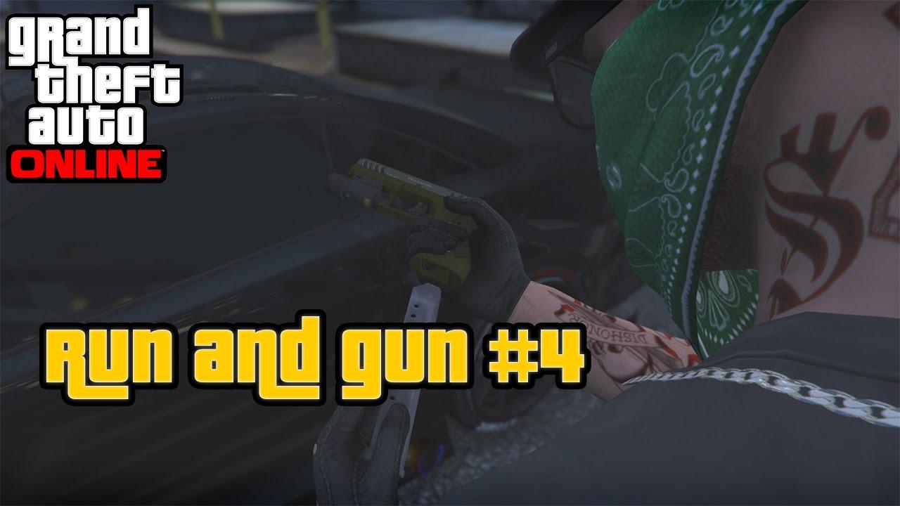 gta 5 how to run and gun on controller