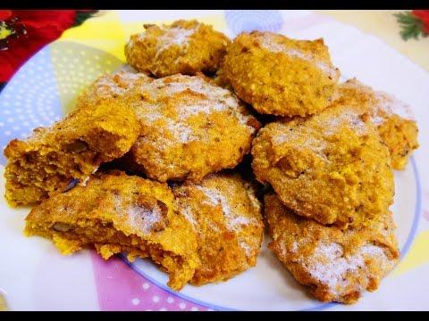 Диетическое овсяное печенье без муки, без сахара, без масла