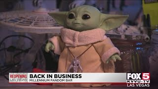 Millennium Fandom bar reopens in downtown Las Vegas