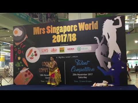Mrs Singapore World 2017/18 Talent Competition