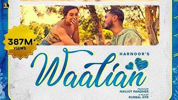 Waalian : Harnoor (Full Song) Gifty   The Kidd   Rubbal GTR   Latest Punjabi Song   JattLife Studios