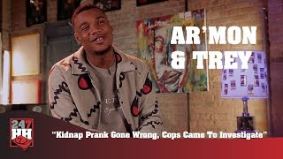 Ar'mon & Trey - Kidnap Prank Gone Wrong, Cops Came To Investigate (247HH Wild Tour Stories)