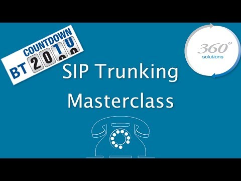SIP Trunking Masterclass