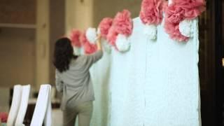 Оформление свадьбы. Свадебное видео. KRISTINA AGEEVA.COM  Декоратор Кристина Агеева