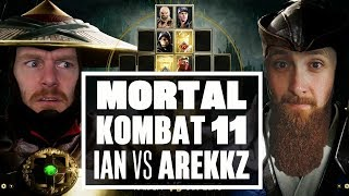 Let's Play Mortal Kombat 11 - IAN VS AREKKZ: BATTLE OF THE GINGER BEARDS!