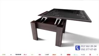 Как собрать стол трансформер своими руками недорого(Готовый стол-трансформер такого плана стоит не дешево. Однако вы можете сильно сэкономить, если приобретет..., 2016-06-06T10:00:54.000Z)