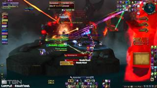 ★ World of Warcraft -- Heroic Madness of Deathwing 10man, ft. Scoobe(Warlock) -- WAY➚