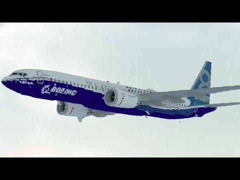 9:1 'Giant' Boeing 737 (Remake) | Minecraft
