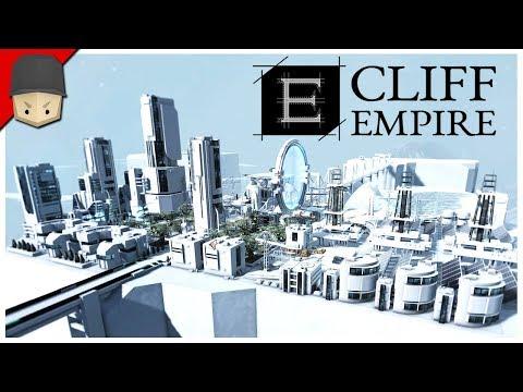 CLIFF EMPIRE - Futuristic City Builder - FIRST LOOK