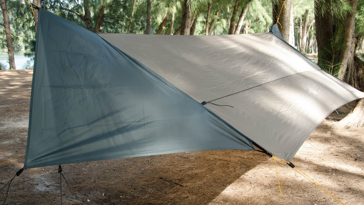 Tarp Doors Tutorial For The Apex Camping Shelter