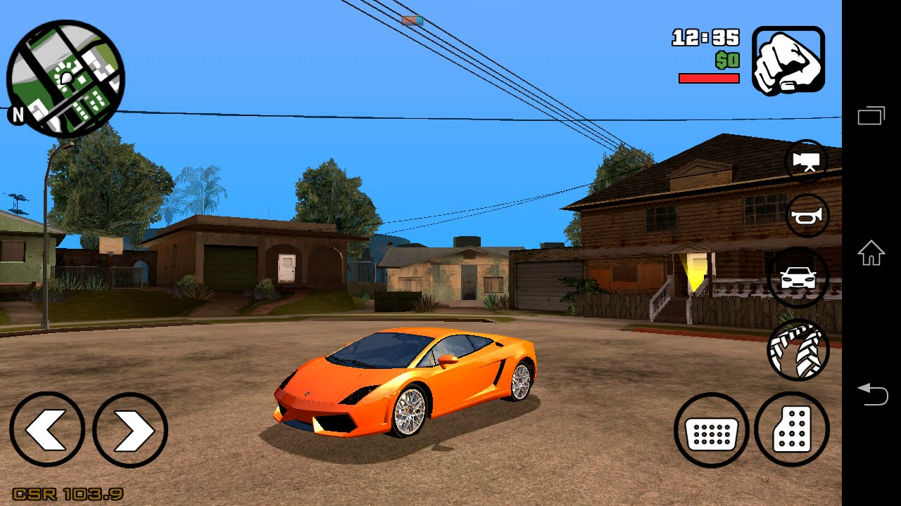 Gta san andreas cheats android sd data + apk