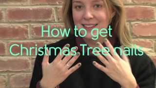 How to get christmas tree nails | MyDaily Advent Calendar Thumbnail
