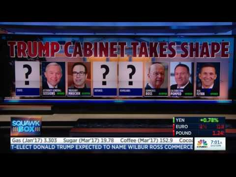 Steve Mnuchin & Wilbur Ross Confirm They've Been Nominated for Trump's Cabinet