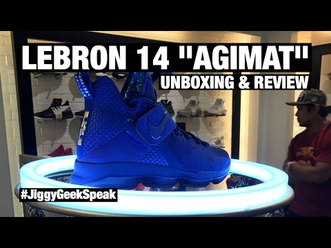 GEEK SPEAK Episode 20 | NIKE LEBRON 14 AGIMAT | SNEAKER UNBOXING AND REVIEW