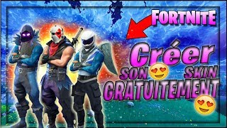 TUTO- TIP HOW TO CREATE HIS SKIN FORTNITE FOR FREE