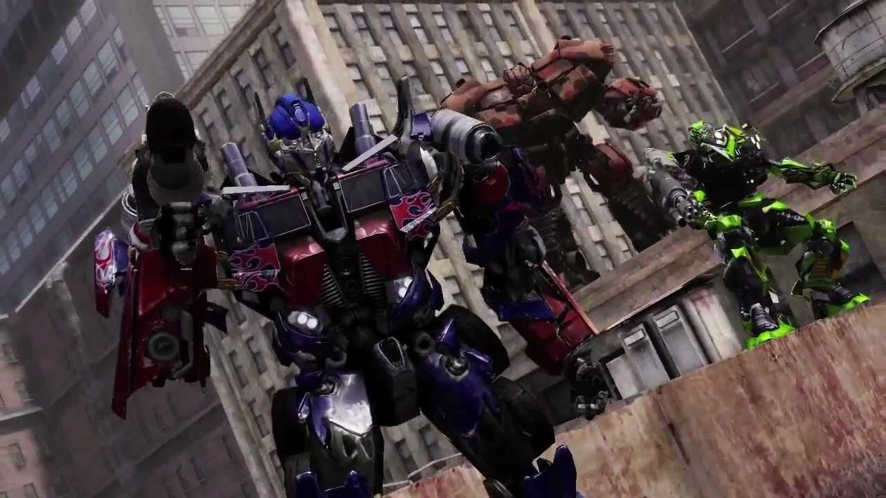 Transformers: Dark of the Moon: The Game Review - PS3 ...