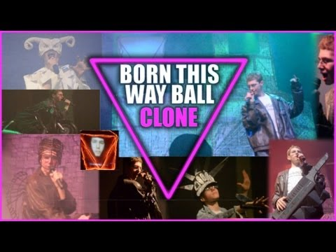 Born This Way Ball Clone DVD - Lady Gaga Concert Cover - Club Gaga