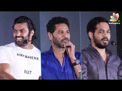 Films making crores of profit is a lie: Arya, Prabhu Deva, Aadhi Speech| Yaanum Theeyavan AL