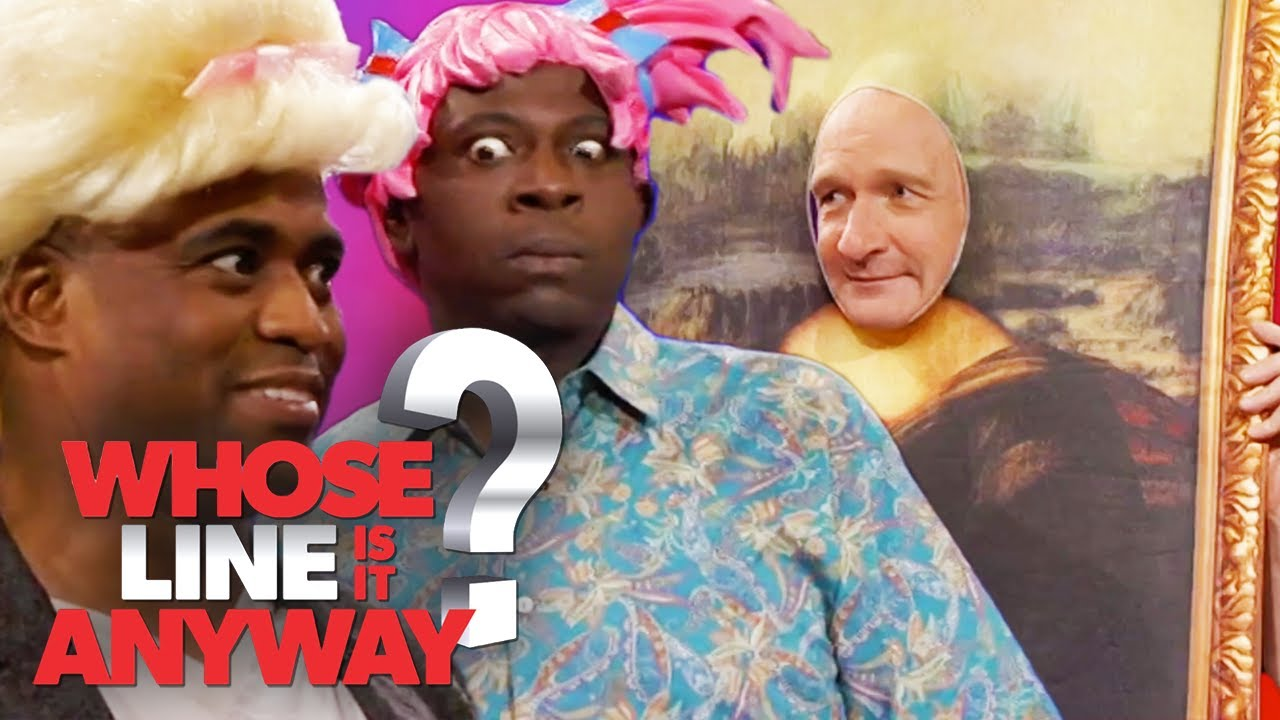 Mona Lisa Gets Freaky? | Whose Line Is It Anyway?