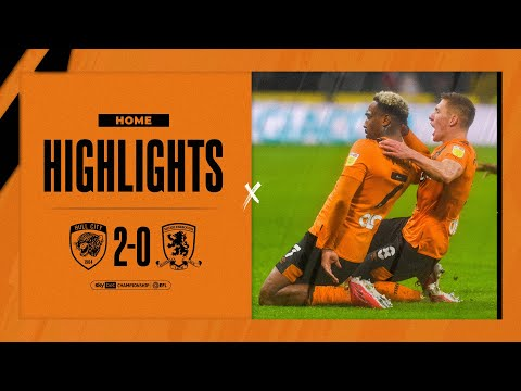 Hull Middlesbrough Goals And Highlights
