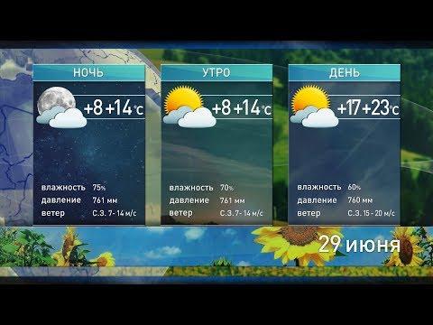Прогноз погоды на 29 и 30 июня: температура начнет повышаться