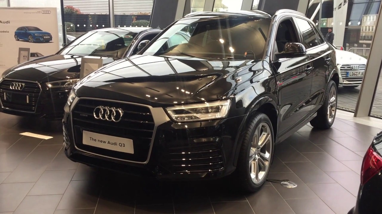 Audi Q3 Black Edition Review >> All-new 2017 Audi Q3 S-Line - Exterior and Interior Review - YouTube