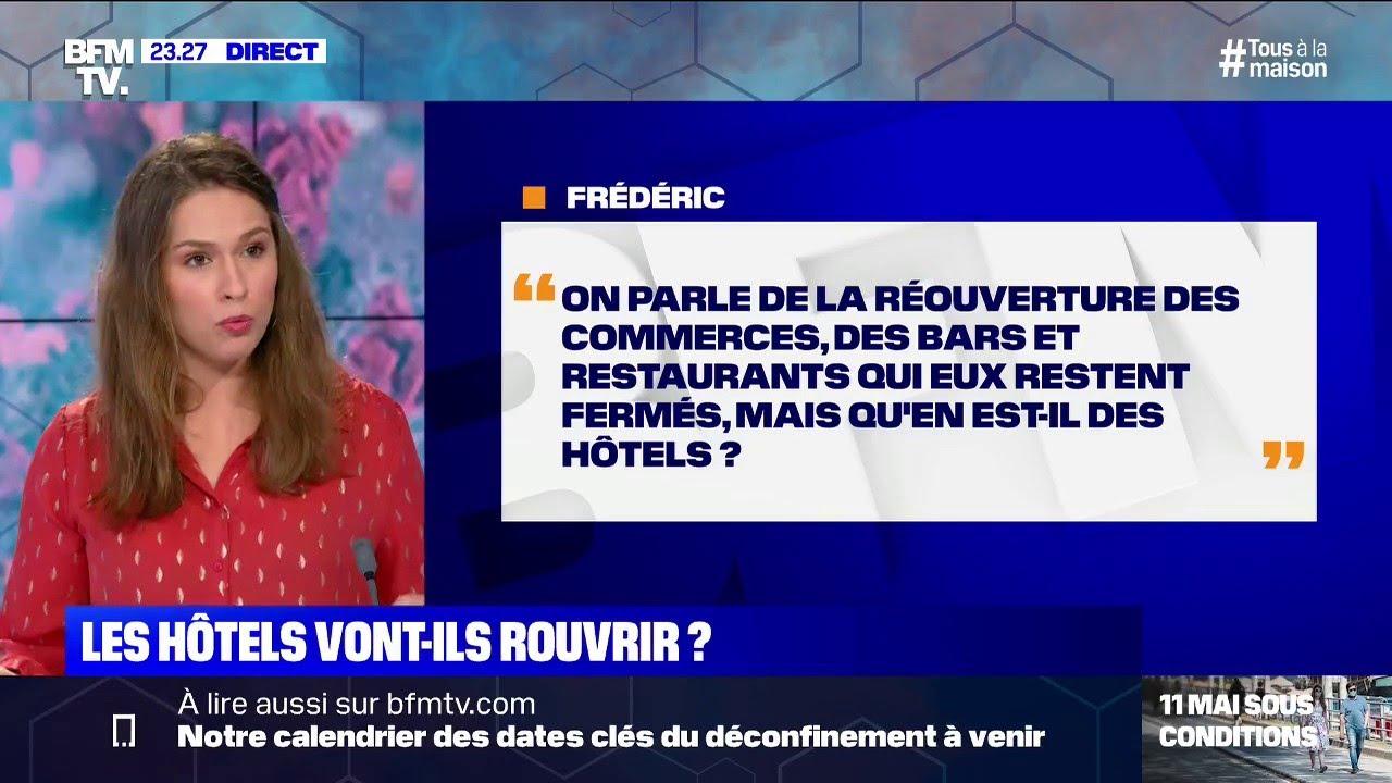Les hôtels vont-ils rouvrir ? BFMTV répond à vos questions