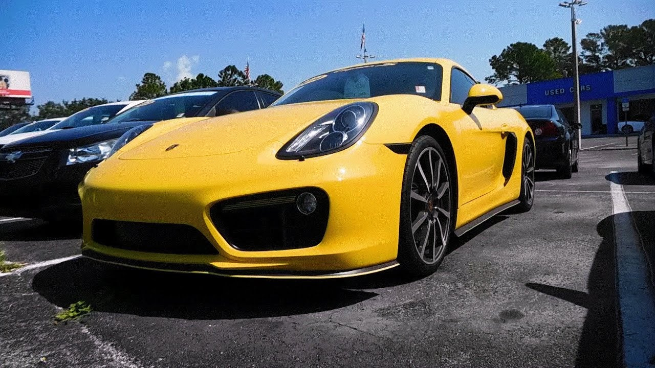 What Makes A Sports Car The Porsche Cayman S YouTube - Sports car makes