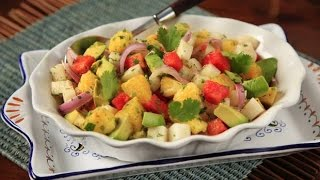 How To Make Tangy Tropical Salad