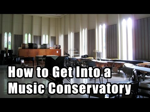 How to Get Into a Music School (Conservatory)