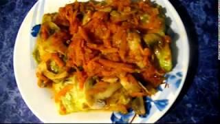 Обалденные Постные / Вегетарианские ГОЛУБЦЫ из пекинской капусты в мультиварке